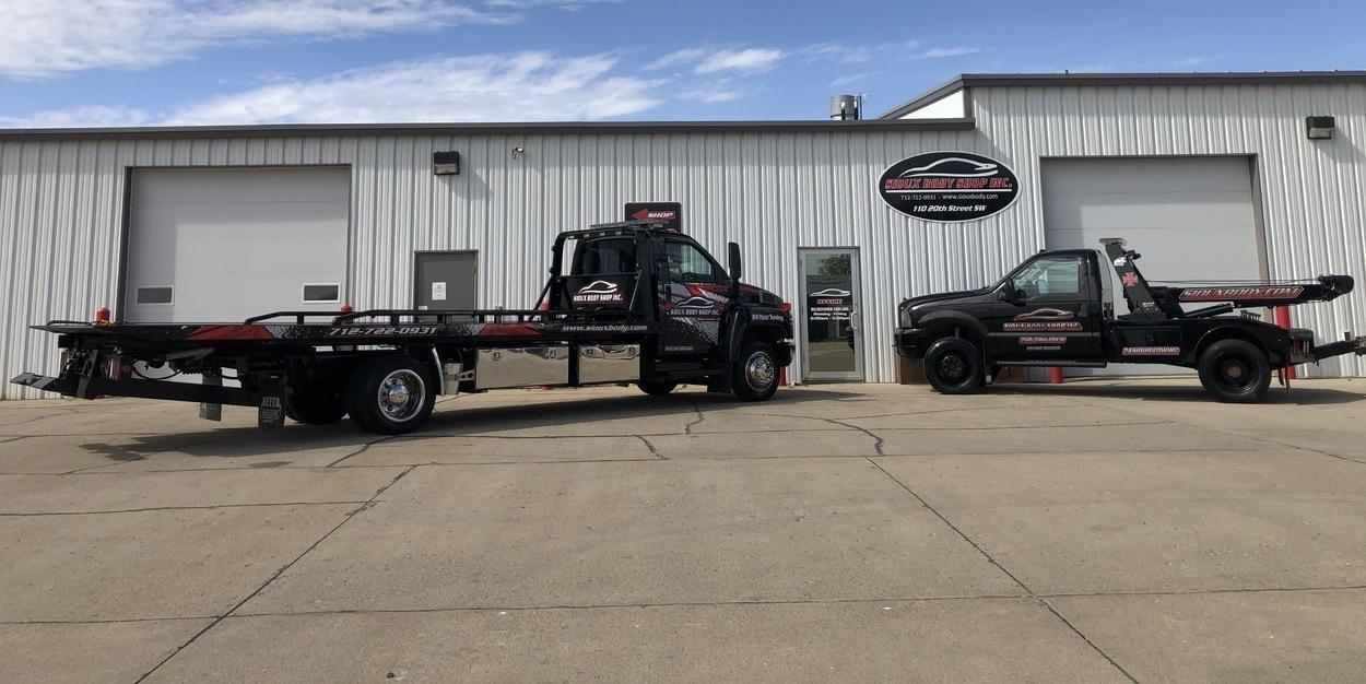 Tow Truck in Sioux Center, Iowa